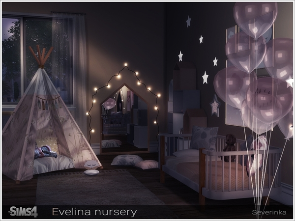 Evelina nursery by Severinka at TSR image 341 Sims 4 Updates