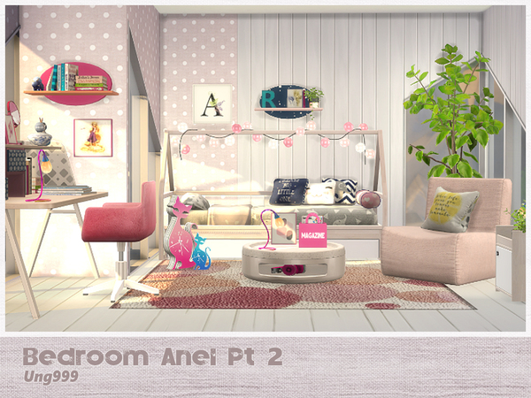 Bedroom Anel Pt. 2 by ung999 at TSR image 3414 Sims 4 Updates