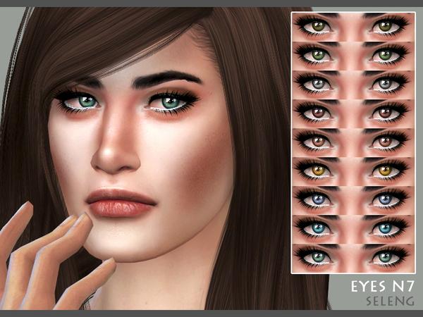 Sims 4 Eyes N7 by Seleng at TSR
