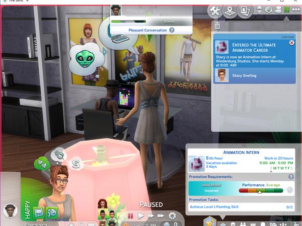 Ultimate Animator Career by asiashamecca at TSR image 3417 Sims 4 Updates