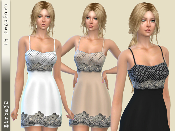 Sims 4 Fairy nightgown by Birba32 at TSR
