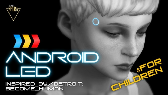 Glowing Android LEDs for Children by LadySpira at Mod The Sims image 345 670x377 Sims 4 Updates