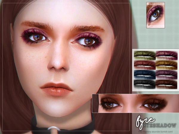 Sims 4 Fyre Eyeshadow by Screaming Mustard at TSR