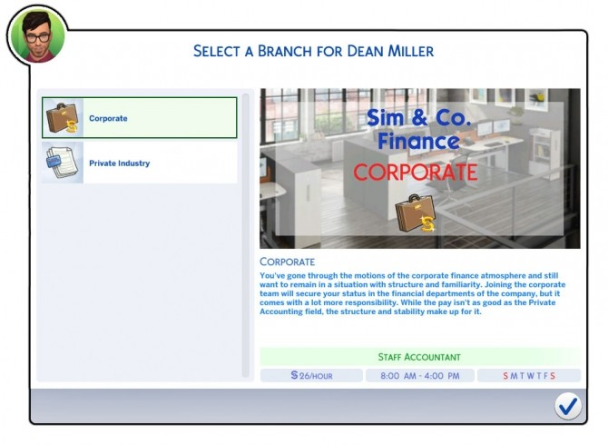 Sims 4 Accounting Career by Retr0 at Mod The Sims