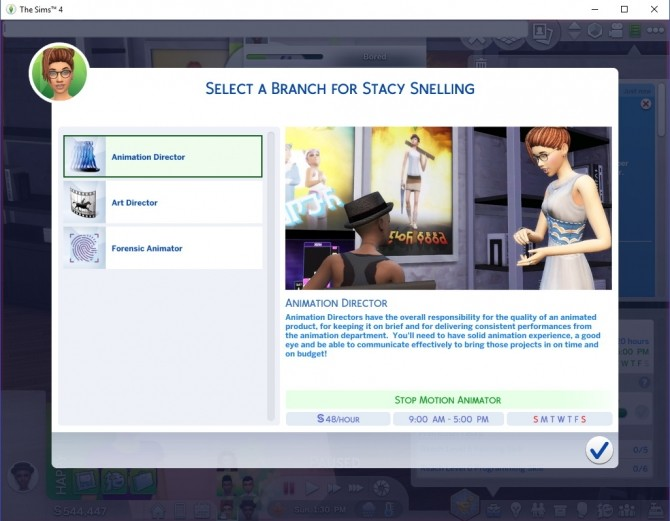 Sims 4 Ultimate Animator Career by asiashamecca at Mod The Sims