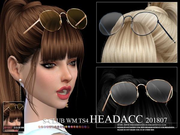 Headacc FM 201807 by S Club WM at TSR image 376 Sims 4 Updates