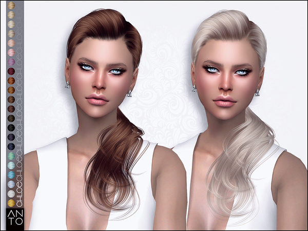 Chloe Hairstyle by Anto at TSR image 3814 Sims 4 Updates