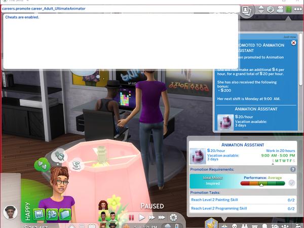 Ultimate Animator Career by asiashamecca at TSR image 3817 Sims 4 Updates