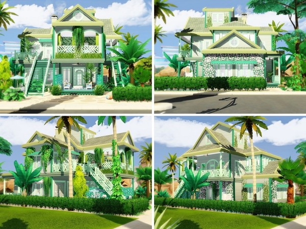 Sims 4 Beach Paradise 2 by MychQQQ at TSR