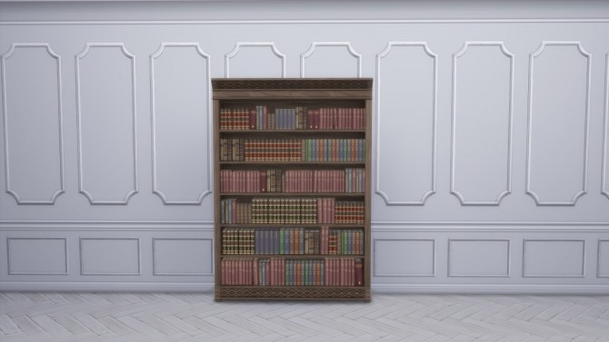 Distinguished Bookcase from TS3 by TheJim07 at Mod The Sims image 391 670x377 Sims 4 Updates