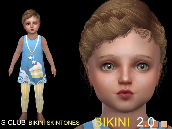 Bikini 2.0 skin ALL AGE by S Club WMLL at TSR image 393 Sims 4 Updates