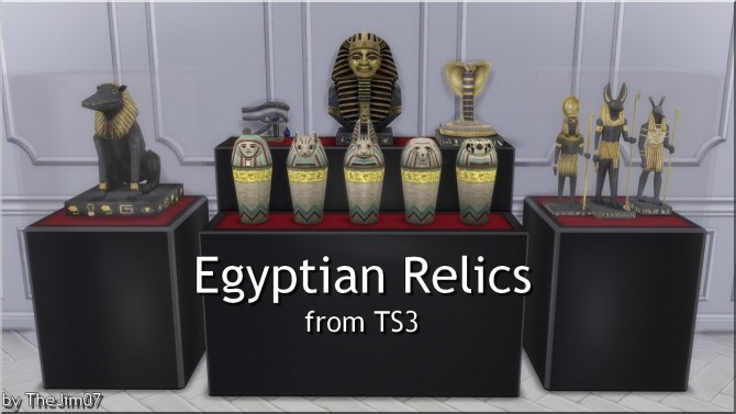Egyptian Relics from TS3 by TheJim07 at Mod The Sims image 394 670x377 Sims 4 Updates