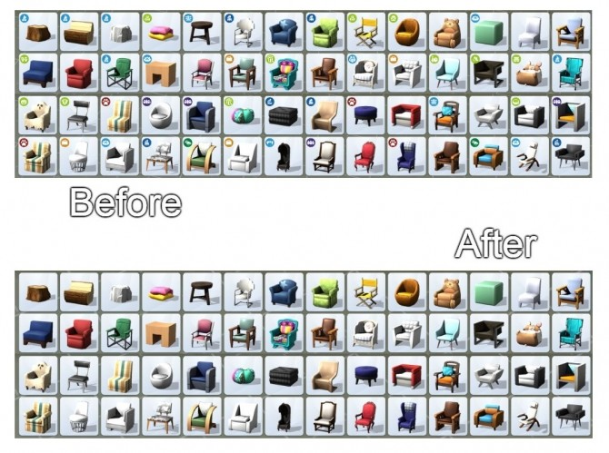 PIR Pack Icon Remover (works in BB and CAS) by tucatuc at Mod The Sims image 395 670x499 Sims 4 Updates