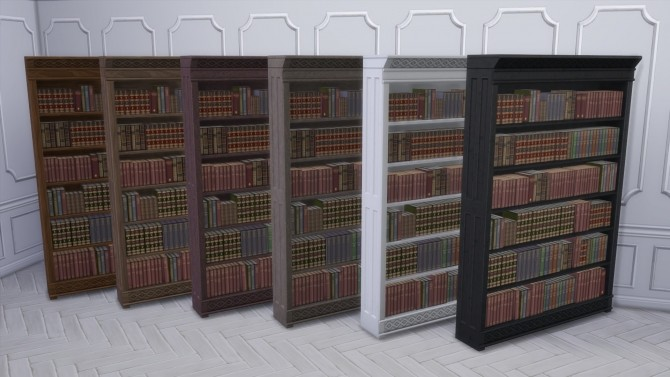 Distinguished Bookcase from TS3 by TheJim07 at Mod The Sims image 401 670x377 Sims 4 Updates