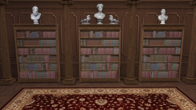 Distinguished Bookcase from TS3 by TheJim07 at Mod The Sims image 411 670x377 Sims 4 Updates