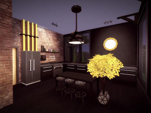 Svarta house NO CC by melcastro91 at TSR image 413 Sims 4 Updates