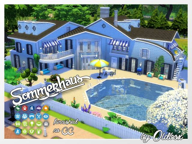 Summer house by Oldbox at All 4 Sims image 4161 Sims 4 Updates