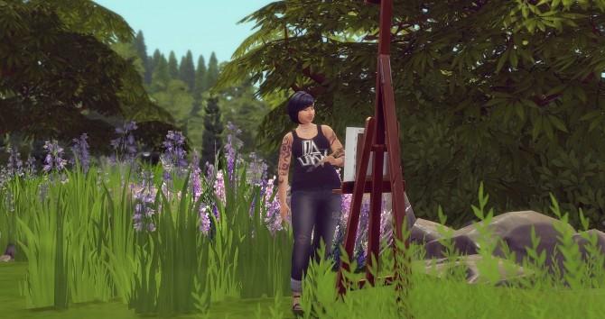 Maria Alvarez by Angerouge at Studio Sims Creation image 4211 670x354 Sims 4 Updates