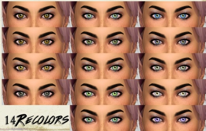Sims 4 TMS Ms Redux Eyes by TheMuseSway at Mod The Sims