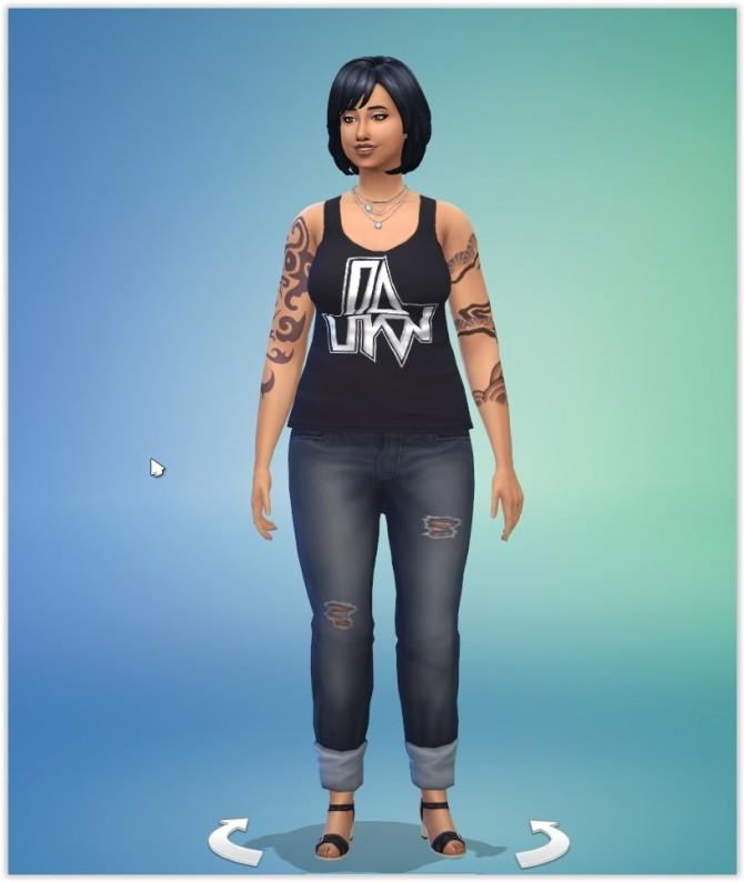 Maria Alvarez by Angerouge at Studio Sims Creation image 4221 670x794 Sims 4 Updates