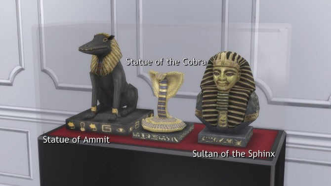 Egyptian Relics from TS3 by TheJim07 at Mod The Sims image 424 670x377 Sims 4 Updates