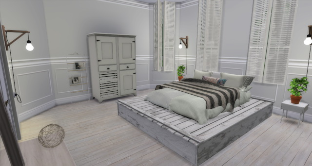 Stephanie bedroom by Rissy Rawr at Pandasht Productions image 426 Sims 4 Updates