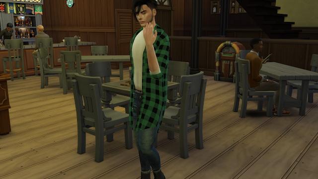 Sims 4 Richard Palek at Amis