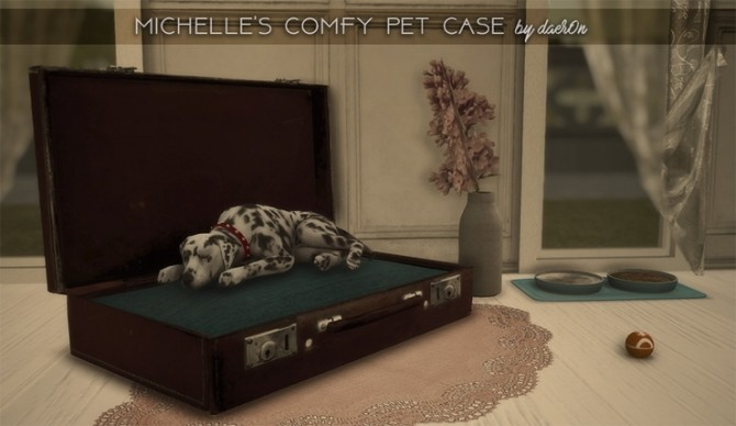 2T4 Michelles Comfy Pet Case by daer0n at Blooming Rosy image 436 670x388 Sims 4 Updates