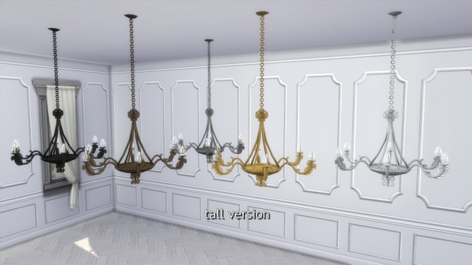 Greaves Ceiling Lights from TS3 by TheJim07 at Mod The Sims image 441 670x377 Sims 4 Updates