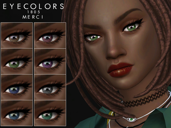 Sims 4 Eyecolors 1805 by Merci at TSR
