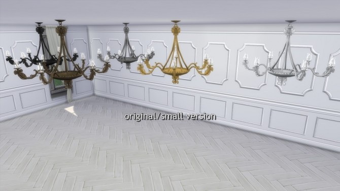 Greaves Ceiling Lights from TS3 by TheJim07 at Mod The Sims image 451 670x377 Sims 4 Updates