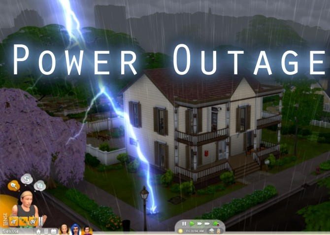 Sims 4 Power Outages by flerb at Mod The Sims