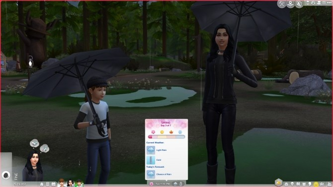 Improved Weather Variety for Worlds by Peterskywalker at Mod The Sims image 501 670x377 Sims 4 Updates