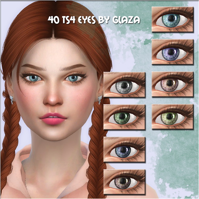 Sims 4 Eyes 40 at All by Glaza