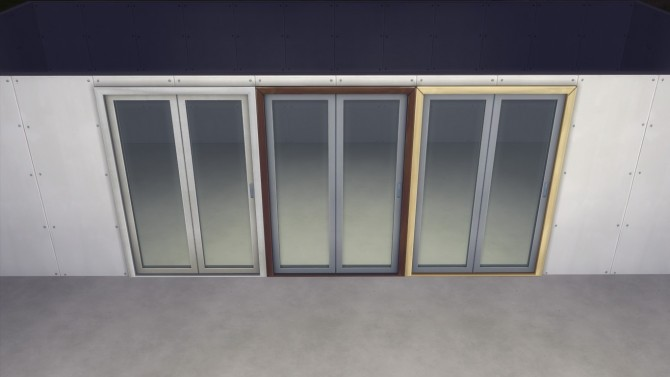 Functional Folding Steel Glass Door by AshenSeaced at Mod The Sims image 535 670x377 Sims 4 Updates