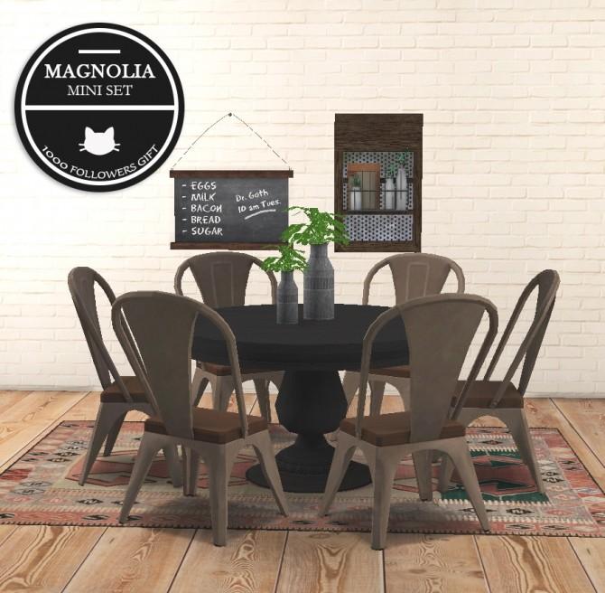 Magnolia mini set at Kitkat's Simporium image 554 670x656 Sims 4 Updates