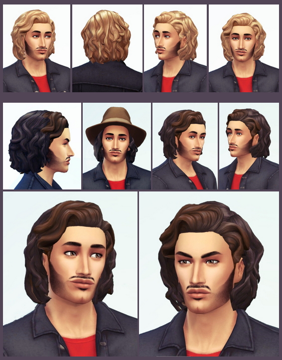 Carl's Mid Wavy Bob Hair at Birksches Sims Blog image 595 Sims 4 Updates