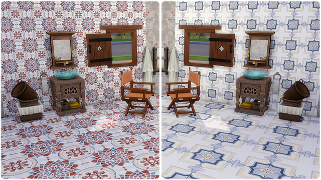 Palermo Wall Tiles at Annett's Sims 4 Welt image 6110 Sims 4 Updates