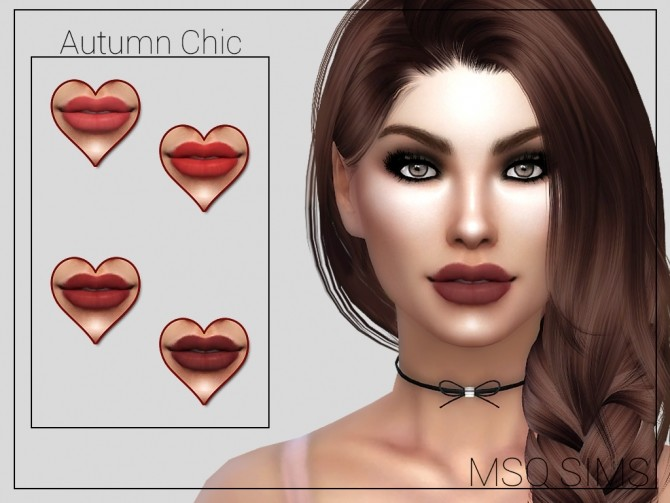 Autumn Chic Lipstick at MSQ Sims image 6415 670x503 Sims 4 Updates