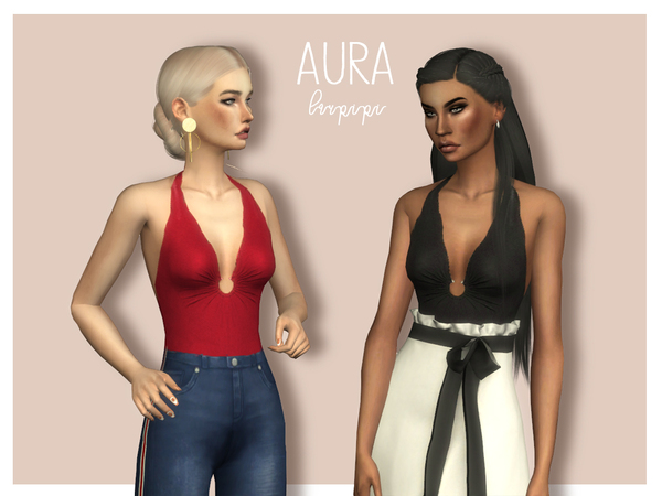 Aura Bodysuit by laupipi at TSR image 656 Sims 4 Updates