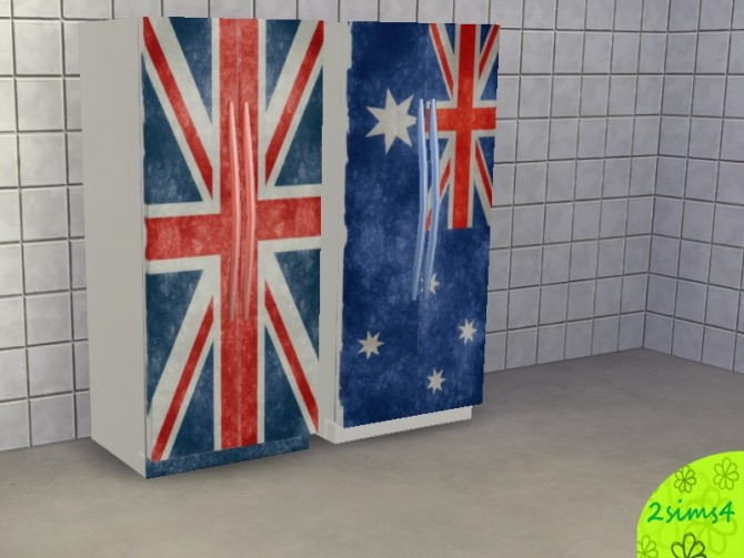 2 recolors of basic fridge by lurania at Mod The Sims image 661 670x503 Sims 4 Updates