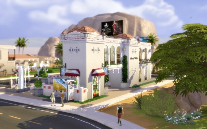 Sims 4 Oasiss Shopping   Oasis Springs at Via Sims