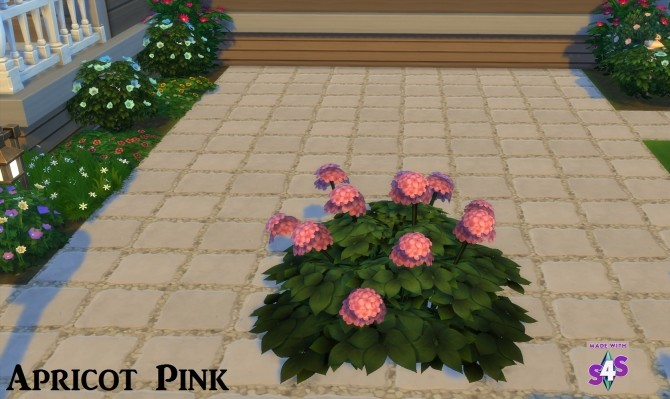Hydrangea Flowers 16 Colours by wendy35pearly at Mod The Sims image 6711 670x399 Sims 4 Updates