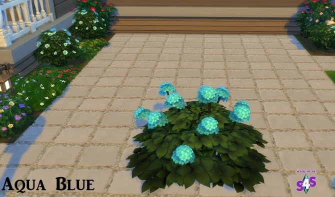 Hydrangea Flowers 16 Colours by wendy35pearly at Mod The Sims image 6811 670x395 Sims 4 Updates