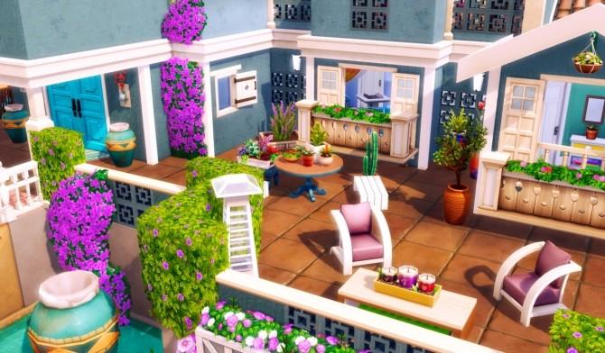 Sims 4 EMERALD AVENUE Mediterranean villa at BERESIMS