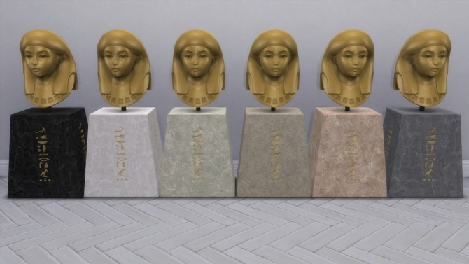 Sims 4 The Gazing Pharaoh from TS3 by TheJim07 at Mod The Sims
