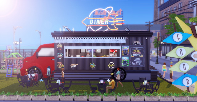 Food Truck at Lily Sims image 7115 Sims 4 Updates