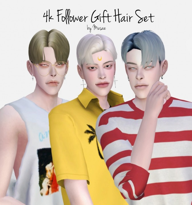 4000 Follower Gift Hair Set at EFFIE image 7120 670x714 Sims 4 Updates