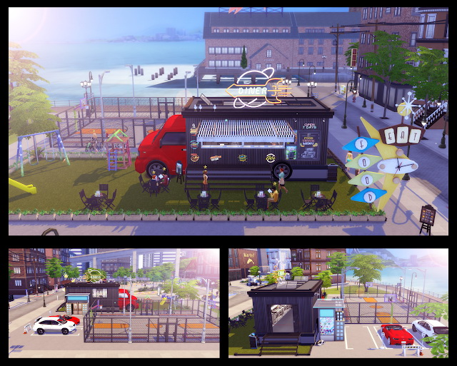 Food Truck at Lily Sims image 7212 Sims 4 Updates
