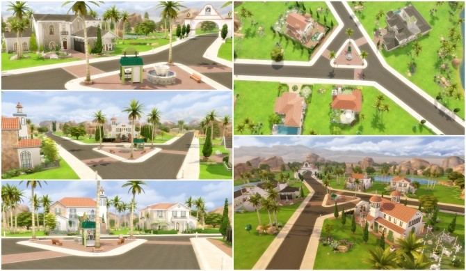 Oasis Springs Makeover at Via Sims image 725 670x389 Sims 4 Updates
